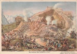 °Cartolina - Postcard /   Viaggiata - Sent /  Granatieri Di Sardegna - Battaglia Dell' Assietta 1747 - Régiments