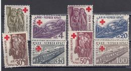 Bulgaria 1946 - Red Cross , YT 463/70, Neufs** - Ungebraucht