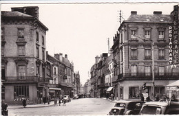 61 ALENCON Grande Rue ,voiture Année 1950 Citroen 2CV , Citroen DS - Alencon