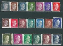 Adolf Hitler 1-80 Pfennig **   (0156) - Unused Stamps