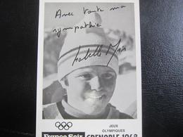 E- Carte Postale Isabelle MIR, Grenoble 1968 - Artisti