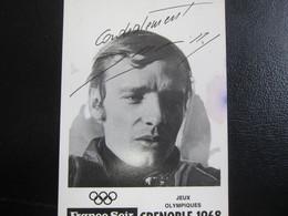 E- Carte Postale Jean-Claude KILLY, Grenoble 1968 - Artisti