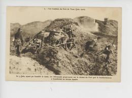 Les Combats De Fort De Vaux Juin 1916 - 3 Juin Les Allemands Progressent - Bombardement Terrain Lunaire (n°5) - Guerra 1914-18