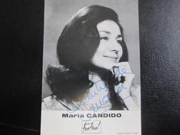 E- Carte Postale Maria CANDIDO - Artisti