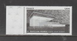 FRANCE / 2021 / Y&T N° 5495 ** : Pavillon De La France à L'Expo 2020 Dubaï X 1 BdF G - Neufs