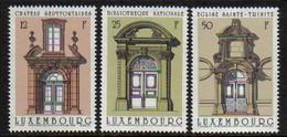 Luxemburg 1988 Architecture Y.T. 1154/1156 ** - Nuovi