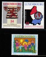 Luxemburg 1994 Anniversaries & Events Y.T. 1292/1294 ** - Nuovi