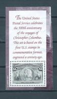 1991 USA $5 Columbus Used/gebruikt/oblitere - Gebruikt