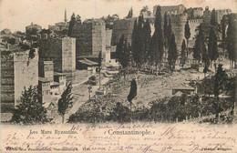 TURQUIE   CONSTANTINOPLE  Les Murs Byzantins - Turkey