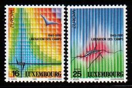 Luxemburg 1995 Europa Peace & Liberty Y.T. 1318/1319 ** - Nuovi