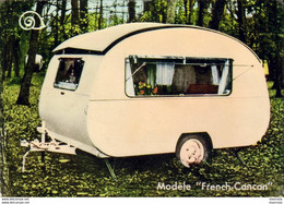 D77  FONTAINEBLEAU  Caravanes L'Escargot Type French Cancan   ............ Vue Peu Courante - Werbepostkarten