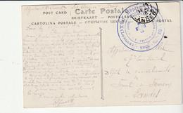 """Carte Courses Landaises/ Landes Et Cachet """"Hôpital Auxiliaire N°86, Les Thermes (Hôtel Graciet),Secours Aux Blessés,Dax"""" - Covers & Documents"""