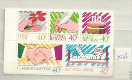 1988 MNH New Zealand, Postfris** - Unused Stamps