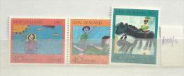1987 MNH New Zealand, Postfris** - Unused Stamps