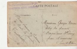 """Carte Berger/ Moutons Et Cachet """"Hôpital  Complémentaire N°20 Sanatorium Marin Capbreton"""" / Asile Ste Eugénie - Covers & Documents"""