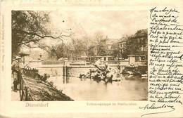 ALLEMAGNE DUESSELDORF  Tritonengruppe - Duesseldorf