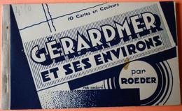 CARNET DE 10 CARTES EN COULEURS GERARDMER - 88 - PLUSIEURS SCANS - 6 - Gerardmer