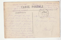 "Carte Dax Et Cachet "" Hôpital Municipal N°60 Bis, Ecole Sully, Dax"", 1915 - Covers & Documents"