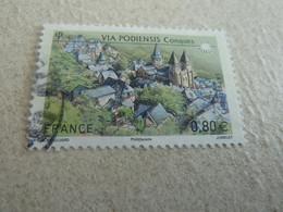 Conques - Eglise Abbatiale Saint-Foye - Via Podiensis - 0,80 € - Oblitéré - Année 2013 - - Used Stamps