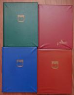 P_ Österreich Sammlung - Ca. 1945 - 1997 - Postfrisch MNH + Gestempelt Used - 4 Einsteckalben - Collections