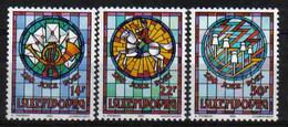 Luxemburg 1992 600 Y. Post & Telecommunications Y.T. 1252/1254 ** - Nuovi
