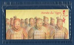 ⭐ France - Bloc Souvenir - YT N° 47 - Année Du Tigre - Sous Blister - 2010 ⭐ - Souvenir Blokken