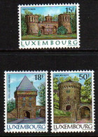 Luxemburg 1986 Fortifications Y.T. 1103/1105 ** - Nuovi