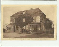 27 - SAINT MARDS DE FRESNE - Café Tabac épicerie Maison BROUTIN  Animé Bon état - Autres Communes