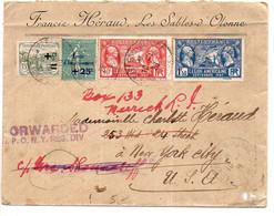 Orphelins + Caisse Amortissement + Légion Américaine Sur Lettre De 1928 Pour Les Etats-Unis - 1921-1960: Modern Period