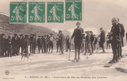 BEUIL (06) -  Concours De Ski Au Plateau Des Launes - Other Municipalities