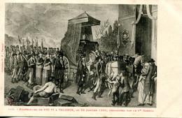 CPA -  VALENCE - FUNERAILLES DE PIE VI EN 1800 - Valence