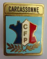 Insigne Militaire ECOLE POLICE CFP CARCASSONNE - Polizia