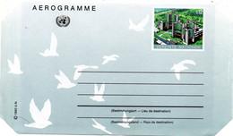 ONU VIENNE. Aérogramme De 1992. Centre International De Vienne. - Sonstige