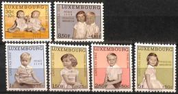 NB - [828948]TB//**/Mnh-Luxemboug 1962 - N° 614/19, Prine Jean Et Princesse Margaretha, Familles Royales, SC - Neufs
