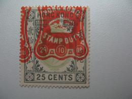 Fiscaux Lot   Stamp Duty   Hong Kong   à Voir - Other