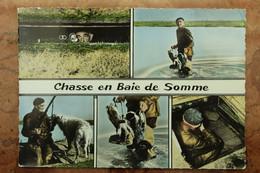 CHASSE EN BAIE DE SOMME (80) - UN GABIONNEUR - Abbeville