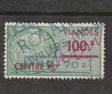 T.F Viandes N°33 - Revenue Stamps