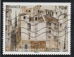FRANCE 2018 LEONARD FOUJITA  OBLITERE  YT 5200 - Used Stamps