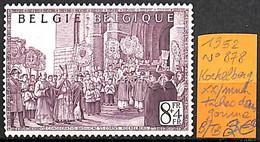 [834999]B/TB//**/Mnh-Belgique 1952 - N° 878, Tache Dans Gomme - Kerken En Kathedralen