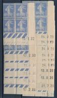EC-393: FRANCE: Lot Avec Coins Datés ** Du N°237 (16) (1928-1929(9)-1930(5)-1932 - ....-1929