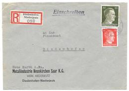 Moselle (Basse Yutz) - LR Obl. DIEDENHOFEN-NIEDERJEUTZ C  -  5.4.1944 - Elzas-Lotharingen