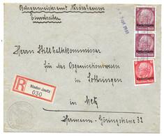 Moselle (Basse Yutz) - LR Obl. Linéaire Nieder-Jeutz  -  12.9.1940 - Elzas-Lotharingen