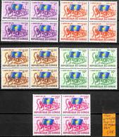 [837786]TB//**/Mnh-RD Congo 1961 - N° 415/19, Série Complète, Bd4, Drapeaux, SNC - Republiek Congo (1960-64)