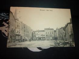 Cartes Postale Vosges Mirecourt Place Thiers Animée - Mirecourt