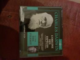 Cd  Coffret 3 Cd Avec Livret   Charles Darwin L'origine Des Especes Lu Par Eric Pierrot - CD