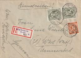 R - Brief Alliierte Besetzung Schwerte AM Post Vom 13.8.1946 - Franse Zone