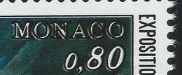 MC3-/-117- N° 1093,  * * , DECALLAGE DE L'IMPRESSION = MONACO En DOUBLE, IMAGE DU VERSO SUR DEMANDE - Errors And Oddities