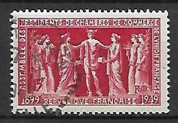 FRANCE    -     1949  . Y&T N° 849 Oblitéré.  Chambres De Commerce - Usati