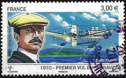 France 2010 - Mi 4838 - YT Pa 73 ( Henri Fabre & Seaplane ) - 1960-.... Usati