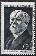 FRANCE    -     1950 . Y&T N° 864 Oblitéré.   Raymond Poincaré - Usati